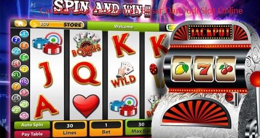 Cara Meraup Pendapatan Besar Dari Judi Slot Online